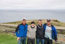 Wind Energy Center Faculty and Alums on Block Island