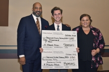 College of Engineering MacFarlane Wins Innovation Challenge Minute Pitch Contest