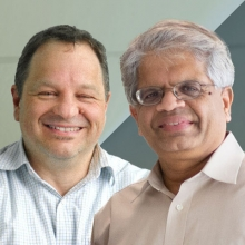 Michael Zink (left) and Ramesh Sitaraman (right)