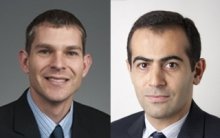 Frank Sup (left) and Yahya Modarres-Sadeghi (right)