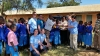 Engineers without Borders with Kenyan villagers
